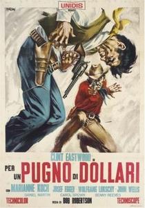 Por um Punhado de Dólares - Poster / Capa / Cartaz - Oficial 5