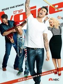 The Voice (8ª Temporada) - Poster / Capa / Cartaz - Oficial 1