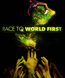 Race to World First The Movie - Poster / Capa / Cartaz - Oficial 1
