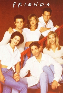 Friends (3ª Temporada) - Poster / Capa / Cartaz - Oficial 4