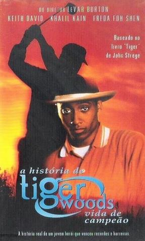 259bb6616 A História de Tiger Woods - Vida de Campeão - Poster   Capa   Cartaz -