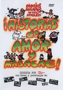 Histórias de Amor e Massacre - Poster / Capa / Cartaz - Oficial 1