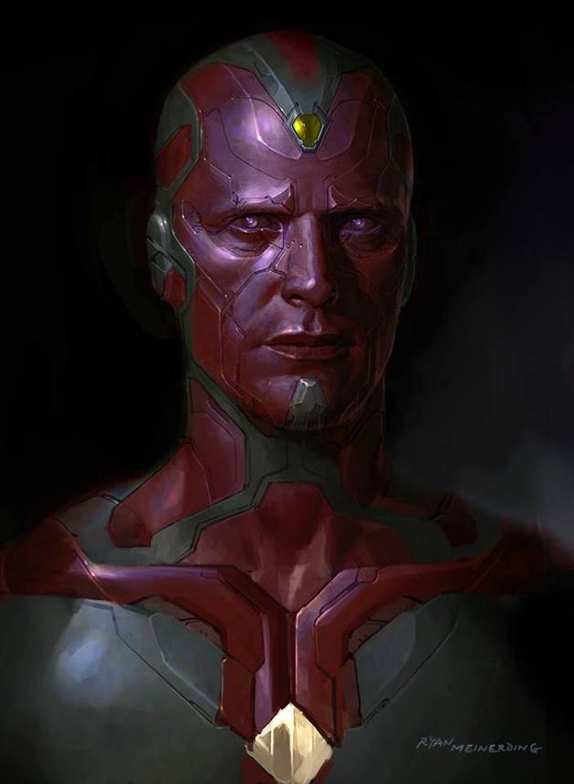 """Vingadores: veja visuais descartados do Visão e da Hulkbuster de """"Era de Ultron"""""""