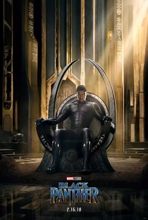 Pantera Negra - Poster / Capa / Cartaz - Oficial 9