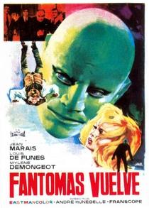 A Volta de Fantomas - Poster / Capa / Cartaz - Oficial 8