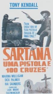 Sartana, Uma Pistola e 100 Cruzes - Poster / Capa / Cartaz - Oficial 1