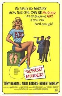 Os Crimes do Alfabeto - Poster / Capa / Cartaz - Oficial 1
