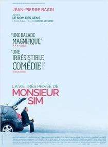 La vie très privée de Monsieur Sim - Poster / Capa / Cartaz - Oficial 1