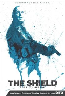 The Shield - Acima da Lei  (5ª temporada) - Poster / Capa / Cartaz - Oficial 1