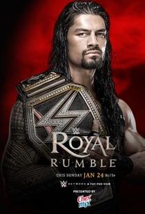 WWE Royal Rumble 2016 - Poster / Capa / Cartaz - Oficial 1