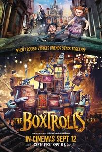 Os Boxtrolls - Poster / Capa / Cartaz - Oficial 2