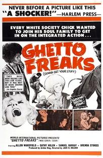 Ghetto Freaks - Poster / Capa / Cartaz - Oficial 1