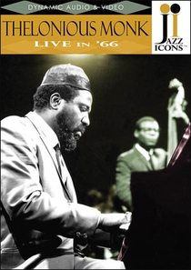 Thelonious Monk - Live in '66 - Poster / Capa / Cartaz - Oficial 1