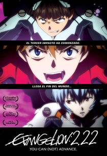 Evangelion: 2.22 You Can (Not) Advance - Poster / Capa / Cartaz - Oficial 3