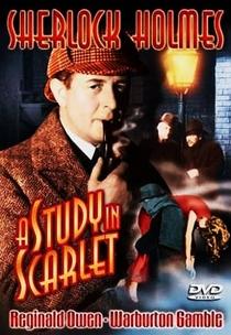 Um Estudo em Vermelho - Poster / Capa / Cartaz - Oficial 1