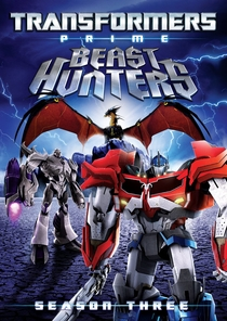Transformers Prime Beast Hunters: 3ª Temporada - Poster / Capa / Cartaz - Oficial 1