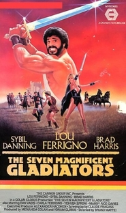 Os Sete Magníficos Gladiadores - Poster / Capa / Cartaz - Oficial 2