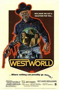 Westworld - Onde Ninguém Tem Alma - Poster / Capa / Cartaz - Oficial 1