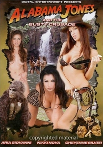 Alabama Jones and the Busty Crusade - Poster / Capa / Cartaz - Oficial 1