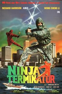 Ninja Terminator - Poster / Capa / Cartaz - Oficial 1