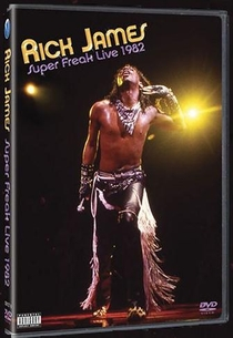 Rick James: Super Freak Live 1982 - Poster / Capa / Cartaz - Oficial 1