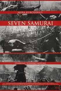 Os Sete Samurais - Poster / Capa / Cartaz - Oficial 22