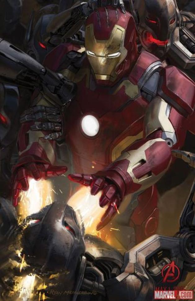 [CINEMA] SDCC '14: Marvel divulga novas artes de Avengers: Age of Ultron e primeiro poster de Ant-Man.