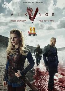 Vikings (3ª Temporada) - Poster / Capa / Cartaz - Oficial 1