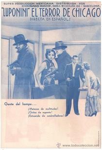 Luponini, el terror de Chicago - Poster / Capa / Cartaz - Oficial 1
