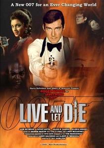 Com 007 Viva e Deixe Morrer - Poster / Capa / Cartaz - Oficial 5