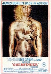 007 - Contra Goldfinger - Poster / Capa / Cartaz - Oficial 4