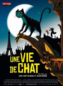 Um Gato em Paris - Poster / Capa / Cartaz - Oficial 1