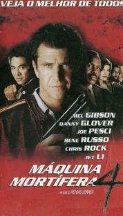 Máquina Mortífera 4 - Poster / Capa / Cartaz - Oficial 2