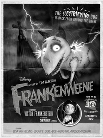 Frankenweenie - Poster / Capa / Cartaz - Oficial 3