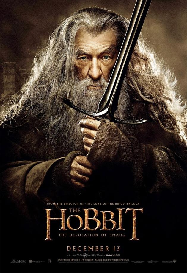 Vejam os novos (e incríveis) cartazes de O Hobbit: A desolação de Smaug