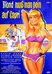 Essa Loira deve estar em Capri - Poster / Capa / Cartaz - Oficial 1