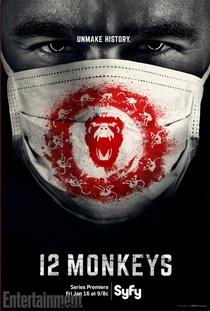 12 Monkeys (1ª Temporada) - Poster / Capa / Cartaz - Oficial 1
