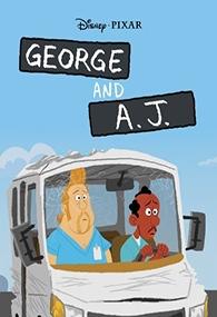 George e A. J. - Poster / Capa / Cartaz - Oficial 1