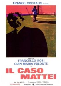 O Caso Mattei - Poster / Capa / Cartaz - Oficial 3