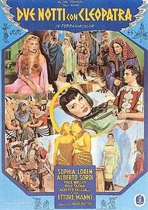 Duas noites com Cleópatra - Poster / Capa / Cartaz - Oficial 1