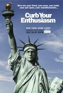 Curb Your Enthusiasm (8ª Temporada) - Poster / Capa / Cartaz - Oficial 2