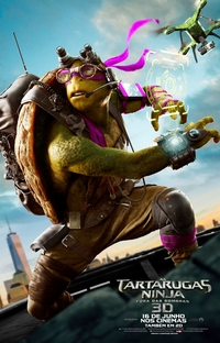 As Tartarugas Ninja: Fora das Sombras - Poster / Capa / Cartaz - Oficial 25