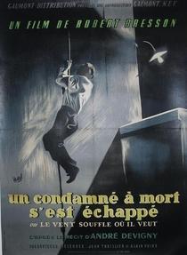 Um Condenado à Morte Escapou - Poster / Capa / Cartaz - Oficial 3