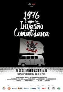 1976 - O Ano da Invasão Corinthiana - Poster / Capa / Cartaz - Oficial 1