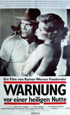 Precauções Diante de uma Prostituta Santa - 1971 | Filmow
