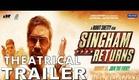 Singham Returns Official Theatrical Trailer | Ajay Devgn & Kareena Kapoor