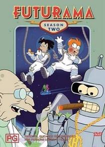 Futurama (2ª Temporada) - Poster / Capa / Cartaz - Oficial 1
