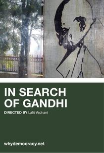 Por que Democracia? - À Procura de Gandhi - Poster / Capa / Cartaz - Oficial 2