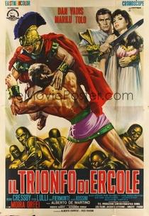 O Triunfo de Hércules - Poster / Capa / Cartaz - Oficial 2