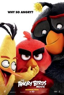 Angry Birds: O Filme - Poster / Capa / Cartaz - Oficial 3